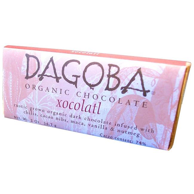 Økologisk chokolade - DAGOBA økologisk chokolade med chili