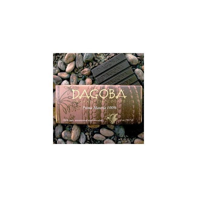 Økologisk chokolade - DAGOBA 100% Økologisk chokolade