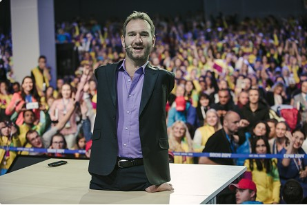 Life Without Limits med Nick Vujicic