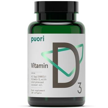 Puori (PurePharma) D3 Vitamin Coconut Formula