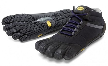 Vibram Fivefingers Trek Ascent Insulated Sort Til Damer Dag Til Dag Levering