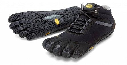 Vibram Fivefingers Trek Ascent Insulated Sort Til Herre Dag Til Dag Levering