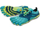 Nye for 2018 - Fivefingers V-Run Teal til Damer Dag Til Dag Levering