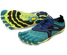 Vibram Fivefingers V-Run Fivefingers V-Run North Sea/Navy til Herre Dag Til Dag Levering